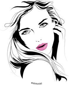 #blacknwhite #female #beauty