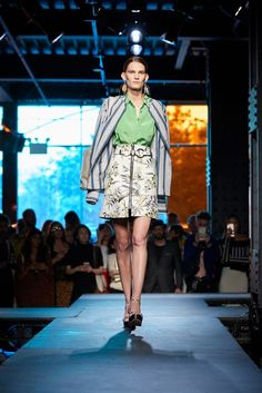 See the full Spring 2018 collection from Diane von Furstenberg.
