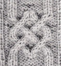 Узоры викингов (1) ..................................... Cable Knitting Patterns, Knitting Stitches, Hand Knitting, Celtic Knot, Diy Crochet, Merino Wool Blanket, Stitch Patterns, Knits, Baking