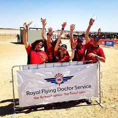 Thank you to 28 super star rotary volunteers who made the trek out to #Birdsville to help us raise money for the Flying Doctor! by royalflyingdoc