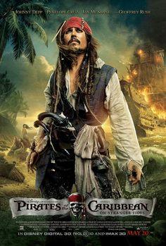 Poster zum Film: Fluch der Karibik 4 - Fremde Gezeiten