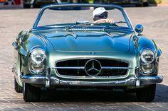 Mercedes-Benz #300SL in La Quinta, CA.    Photo: Royce Rumsey