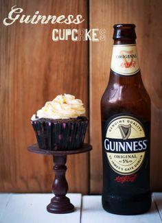 La Cocina de Carolina: Cupcakes Guinnes, repostería y cerveza, ¡dos pasiones en uno!