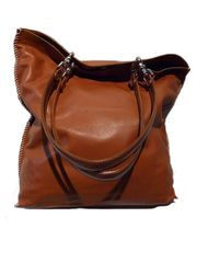 Gajumbo Tote   Napa Leather   Cognac from IMPERIO