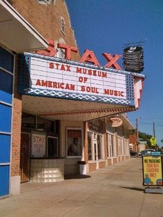 Stax Museum of American Soul Music.  Another musical landmark.  I should just vacation in Memphis.