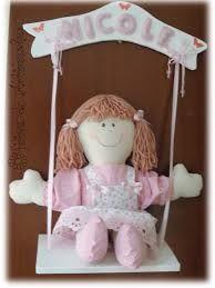 Resultado de imagem para boneca porta maternidade