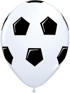 20 x Soccer Ball/Football Qualatex Latex Balloons for sale online