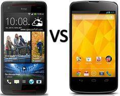 Compare HTC Butterfly S vs LG Nexus 4