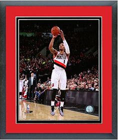 e64d85ba5 Damian Lillard Portland Trail Blazers NBA Action Photo Size 125 x 155  Framed     Be sure to check out this awesome product.