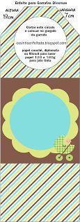 Chá de Bebê Menino nas Cores Marrom Azul e Verde