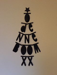 Letterslinger voor de kerst: O Denneboom! Christmas Time, Xmas, Letters, Letter Board, Christmas Decorations, Board Ideas, Nye, Party, December