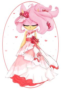 Heart of a Rose by Whimsical-Wings