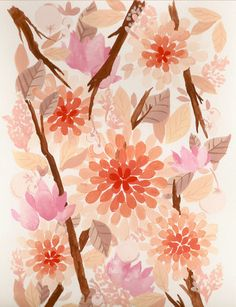 peach, pink and neutral tones creating a perfect palette for your wedding colors.