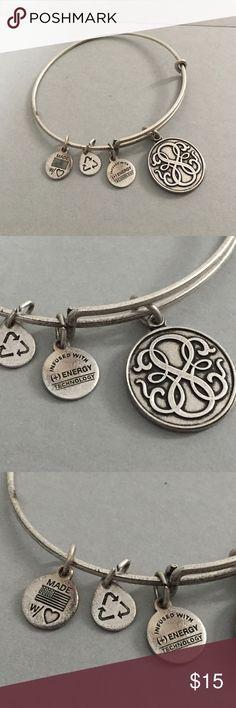 Alex and Ani silver Bracelet Silvertone Alex and Ani bracelet. Great condition. Alex & Ani Jewelry Bracelets