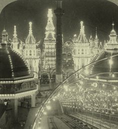 Coney Island at night, 1904