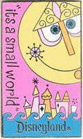 DLR Disney 46th Anniversry Disneyland It's A Small World Clockface Poster Le Pin | eBay