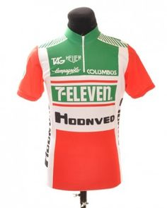 Campagnolo / 7 eleven Vintage Wool Cycling Jersey