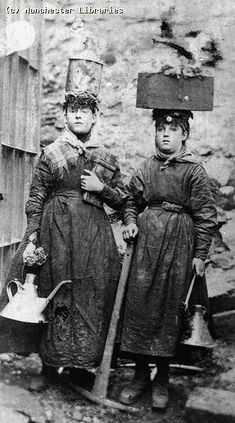 Pit brow lasses, 1890 | Ref no: m60807 | Manchester Archives+ | Flickr