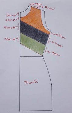 You should know this back armhole rule. Tunic Sewing Patterns, Clothing Patterns, Dress Patterns, Sewing Hacks, Sewing Tutorials, Sewing Projects, Aya Couture, Couture Invisible, Sewing Courses