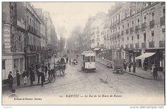 Nantes 44 - Immeubles Tramway Ligne Pont-Rousseau - Editeur Artaud Nozais