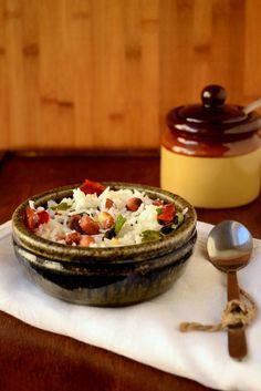 Thengai Sadam (Coconut rice) -South Indian gluten free rice dish -