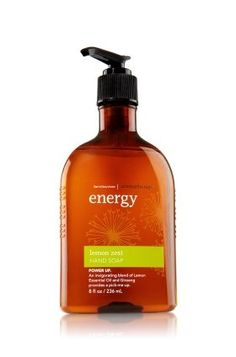 Bath and Body Works Aromatherapy Hand Soap Energy  Lemon Zest * You can find more details by visiting the image link.