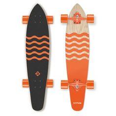 """Longboard Street Surfing Blown Out 36"""""""