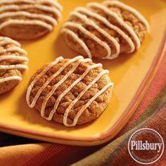 Pumpkin and Cream Cheese Cookies from Pillsbury® Baking