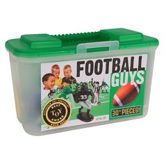 Kaskey Kids Football Guys Figure Set - Green versus Black