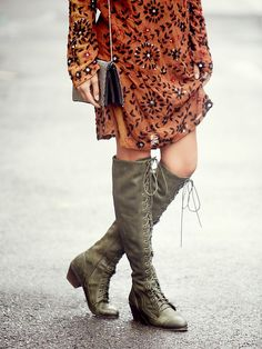 There was very little resistance when ordering these - even the price.  I HAD to have them. Free People Joe Lace Up Boot, $298.00