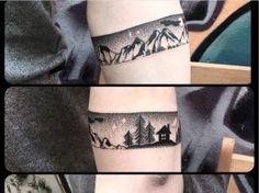 40 Noteworthy Armband Tattoo Ideas