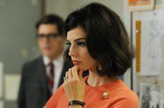 Megan Draper was a tangerine dream in last night's premiere episode(s). (via Wit & Delight)