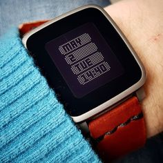 """""""systtmm"""" by with a brown on Pebble Smartwatch Watchfaces Pebble Watch, Track Workout, Watch Faces, Apple Watch, Smart Watch, Instagram Posts, Clock, Stuff To Buy, Watches"""