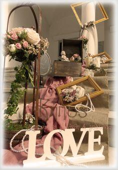 Vintage-rustic με χειροποίητες λεπτομέρειες Day Plan, Vintage Decor, Big Day, Ladder Decor, Boho Chic, Lanterns, Wedding Planning, Wedding Decorations, Wedding Day