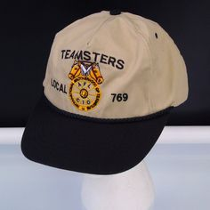 b0cd6e4529c Baseball Hat International Brotherhood Of Teamsters Local 769 Snapback  Vintage Cap