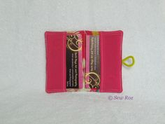 Buy Business card holder gift card pouch - any colour. Handmade gifts crafted by disabled entrepreneurs and carers Business Card Holders, Business Cards, Marketing Merchandise, Web Design, Logo Design, Art Photography, Pouch, Buttons, Handmade Gifts