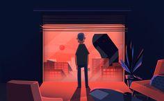 """Żaluzje"" trailer & short animation design on Behance"