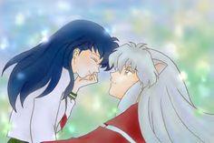 inuyasha loves kagome | Kagome's Love for Inuyasha -- Love between a Half Demon and a Human