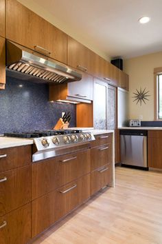Like the color combos. Kitchen Karma - modern - kitchen - portland - 2fORM Architecture