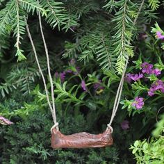 Wood Stump Swing