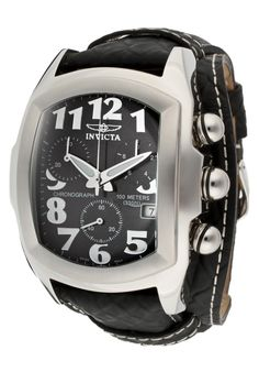 Price:$229.00 #watches Invicta 11321, With a bold, masculine design, Invicta chronograph has a poised and calm ambience that's sure to have you looking twice.
