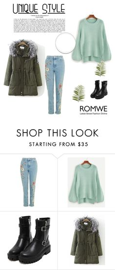 """""""Romwe 14"""" by zerina913 ❤ liked on Polyvore featuring Pier 1 Imports and romwe"""