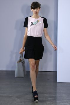 Victoria, Victoria Beckham RTW Spring 2013 - Runway, Fashion Week, Reviews and Slideshows - WWD.com