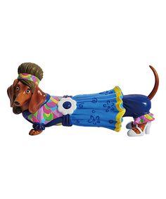 Another great find on #zulily! Flower Power Dachshund Figurine by Westland Giftware #zulilyfinds