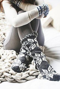 cozy knit outfit