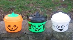 happy meal pails from McDonalds