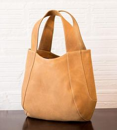 Jessica Leather Tote by Tom Horn Collection on Scoutmob Shoppe