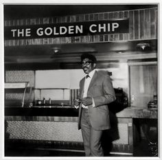Raphael Albert (1935-2009) The Golden Chip, Hammersmith, London c. 1970, printed 2012 Gelatin silver print on paper Gift Eric and Louise Franck London Collection 2016