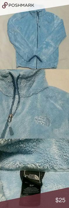 Northface Womens Jacket Fleece jacket.Sky blue womens jacket. North Face Jackets & Coats