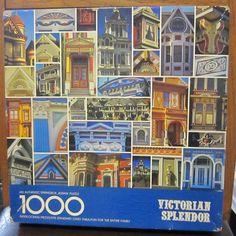 1000 Piece Jigsaw puzzle Springbok Victorian Splendor Complete #Springbok